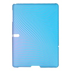 Background Graphics Lines Wave Samsung Galaxy Tab S (10 5 ) Hardshell Case