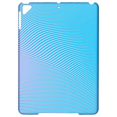 Background Graphics Lines Wave Apple Ipad Pro 9 7   Hardshell Case