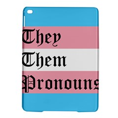 They/Them Pronouns iPad Air 2 Hardshell Cases