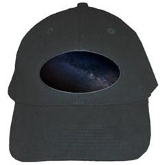 Cosmos Dark Hd Wallpaper Milky Way Black Cap