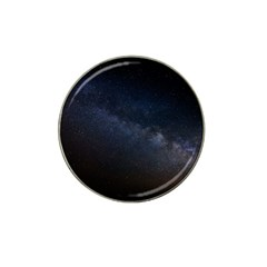 Cosmos Dark Hd Wallpaper Milky Way Hat Clip Ball Marker