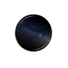 Cosmos Dark Hd Wallpaper Milky Way Hat Clip Ball Marker (10 Pack)