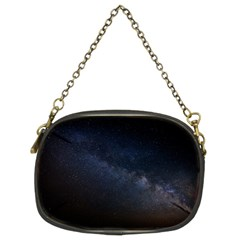 Cosmos Dark Hd Wallpaper Milky Way Chain Purses (two Sides)