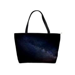 Cosmos Dark Hd Wallpaper Milky Way Shoulder Handbags