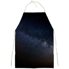 Cosmos Dark Hd Wallpaper Milky Way Full Print Aprons