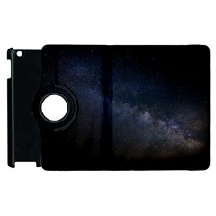 Cosmos Dark Hd Wallpaper Milky Way Apple iPad 3/4 Flip 360 Case