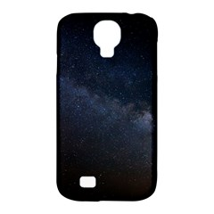 Cosmos Dark Hd Wallpaper Milky Way Samsung Galaxy S4 Classic Hardshell Case (PC+Silicone)