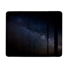 Cosmos Dark Hd Wallpaper Milky Way Samsung Galaxy Tab Pro 8.4  Flip Case