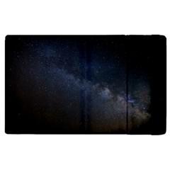 Cosmos Dark Hd Wallpaper Milky Way Apple Ipad Pro 12 9   Flip Case