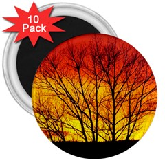 Sunset Abendstimmung 3  Magnets (10 pack)