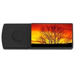 Sunset Abendstimmung USB Flash Drive Rectangular (1 GB)