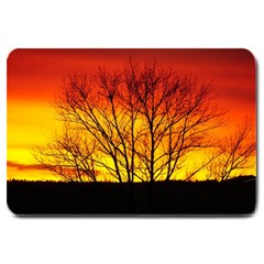 Sunset Abendstimmung Large Doormat