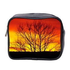 Sunset Abendstimmung Mini Toiletries Bag 2-Side