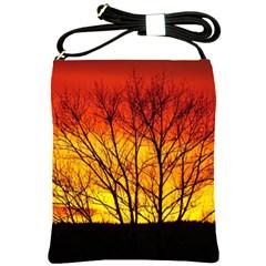 Sunset Abendstimmung Shoulder Sling Bags
