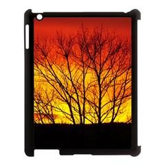 Sunset Abendstimmung Apple iPad 3/4 Case (Black)
