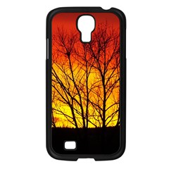 Sunset Abendstimmung Samsung Galaxy S4 I9500/ I9505 Case (Black)