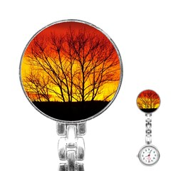 Sunset Abendstimmung Stainless Steel Nurses Watch