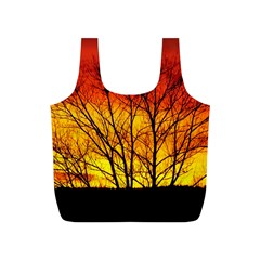 Sunset Abendstimmung Full Print Recycle Bags (S)