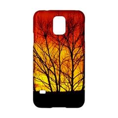 Sunset Abendstimmung Samsung Galaxy S5 Hardshell Case
