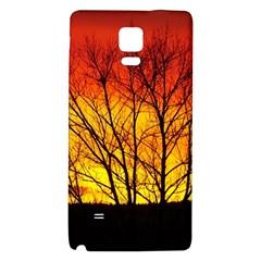 Sunset Abendstimmung Galaxy Note 4 Back Case