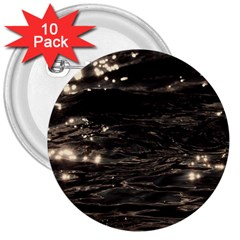 Lake Water Wave Mirroring Texture 3  Buttons (10 Pack)
