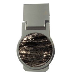 Lake Water Wave Mirroring Texture Money Clips (Round)