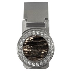 Lake Water Wave Mirroring Texture Money Clips (CZ)