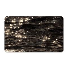 Lake Water Wave Mirroring Texture Magnet (Rectangular)