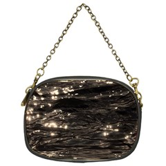 Lake Water Wave Mirroring Texture Chain Purses (One Side)