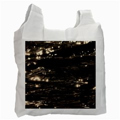 Lake Water Wave Mirroring Texture Recycle Bag (one Side)