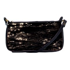 Lake Water Wave Mirroring Texture Shoulder Clutch Bags