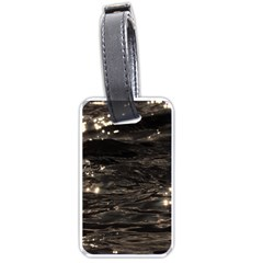 Lake Water Wave Mirroring Texture Luggage Tags (one Side)