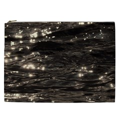Lake Water Wave Mirroring Texture Cosmetic Bag (XXL)