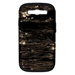 Lake Water Wave Mirroring Texture Samsung Galaxy S Iii Hardshell Case (pc+silicone)