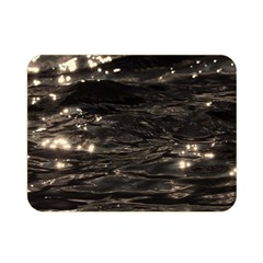 Lake Water Wave Mirroring Texture Double Sided Flano Blanket (Mini)