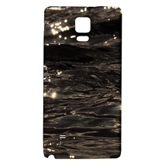 Lake Water Wave Mirroring Texture Galaxy Note 4 Back Case