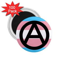 Anarchist Pride 2.25  Magnets (100 pack)