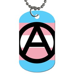 Anarchist Pride Dog Tag (Two Sides)