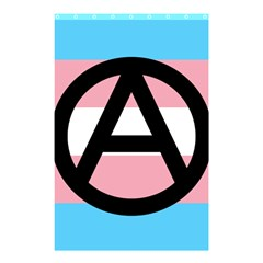 Anarchist Pride Shower Curtain 48  X 72  (small)