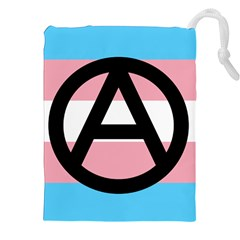 Anarchist Pride Drawstring Pouches (XXL)