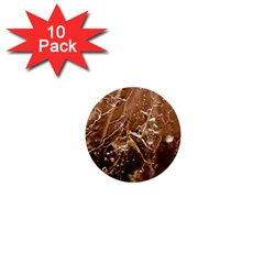 Ice Iced Structure Frozen Frost 1  Mini Buttons (10 pack)