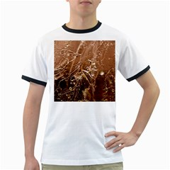 Ice Iced Structure Frozen Frost Ringer T-Shirts