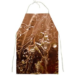 Ice Iced Structure Frozen Frost Full Print Aprons