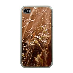 Ice Iced Structure Frozen Frost Apple iPhone 4 Case (Clear)