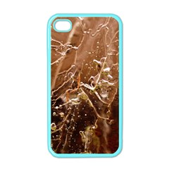Ice Iced Structure Frozen Frost Apple Iphone 4 Case (color)