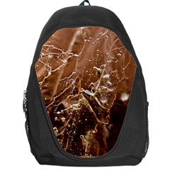 Ice Iced Structure Frozen Frost Backpack Bag
