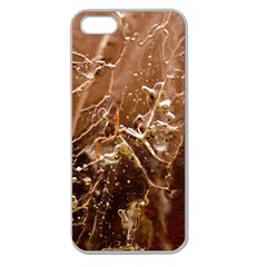 Ice Iced Structure Frozen Frost Apple Seamless iPhone 5 Case (Clear)