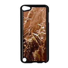 Ice Iced Structure Frozen Frost Apple iPod Touch 5 Case (Black)