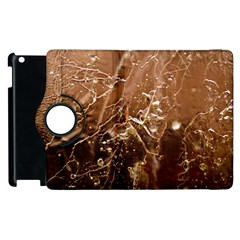 Ice Iced Structure Frozen Frost Apple Ipad 3/4 Flip 360 Case