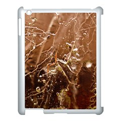 Ice Iced Structure Frozen Frost Apple Ipad 3/4 Case (white)